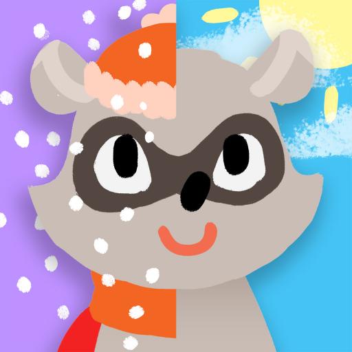 ür Kinder: Animierte Frühlings-, Sommer-, Herbst- und Winterpuzzle-Spiele für Kleinkinder und Jungen und Mädchen im Vorschulalter ()
