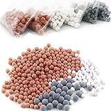 Anti Calcaire pour Douche, Billes ions Négatifs pour Pommeau de douchette (adoucisseur d eau, filtre à spa)
