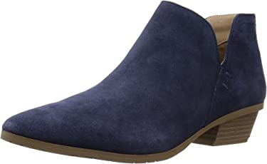 Kenneth Cole REACTION Women s Side Way Low Heel Bootie Ankle Boot