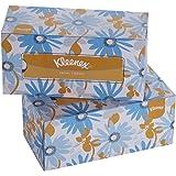 KLEENEX® Facial Tissue Box 60037 - 2 ply Flat Box Facial Tissue - 2 Tissue Boxes x 200 Face Tissues - Sheet Size 21 x 21 cm (