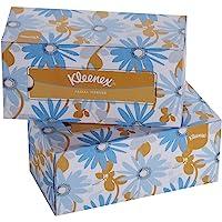 KLEENEX® Facial Tissue Box 60037-2 ply Flat Box Facial Tissue - 2 Tissue Boxes x 200 Face Tissues - Sheet Size 21 x 21…
