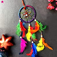 VMP Dream Catcher for Car & Wall Hanging Attract Positive Dreams Showpiece Wind Chems