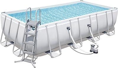 Bestway Power Steel Rectangular Pool Set