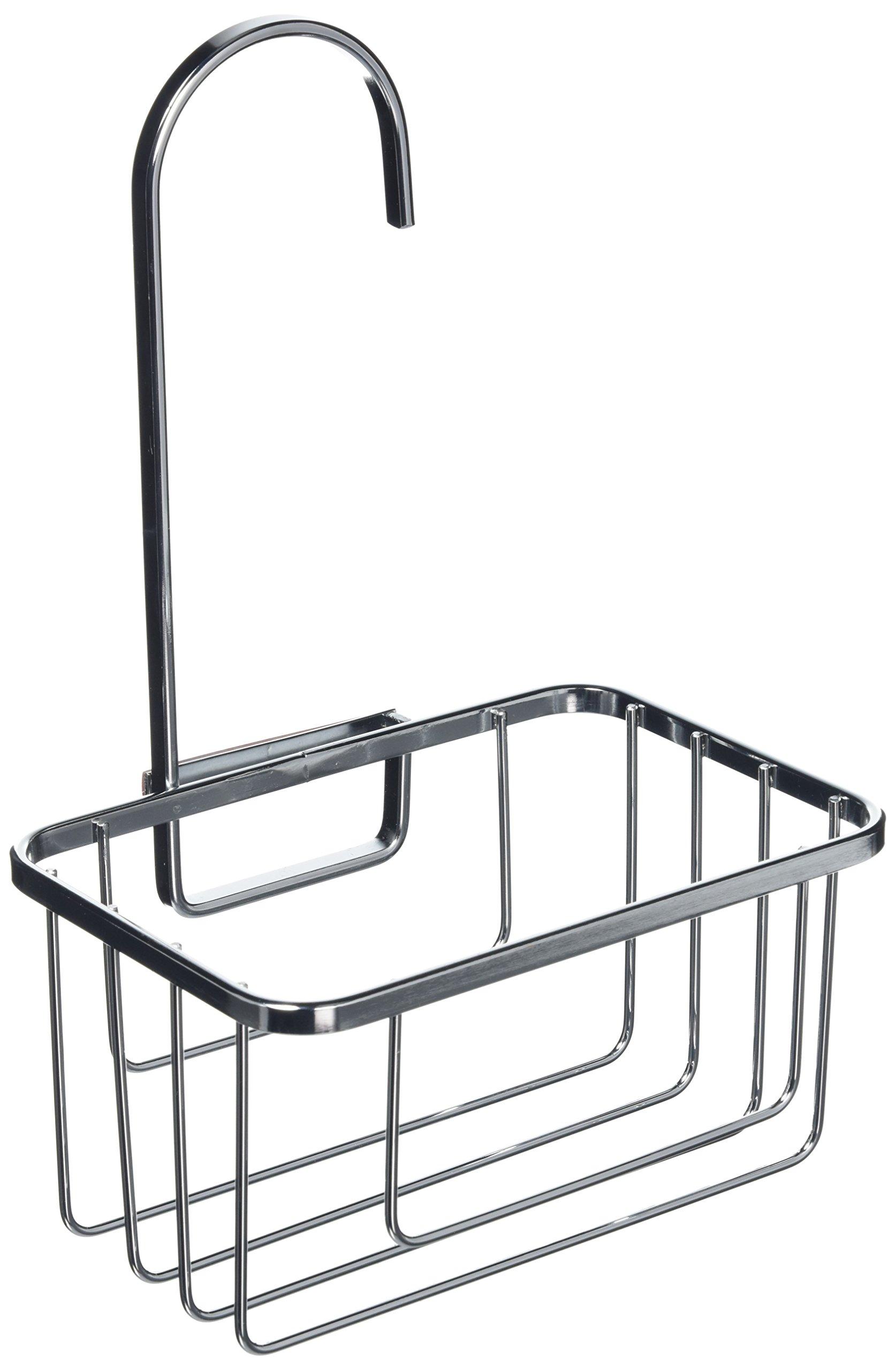 Hanging Shower Caddy Hook Over Door Rack Tidy Organiser Silver ...