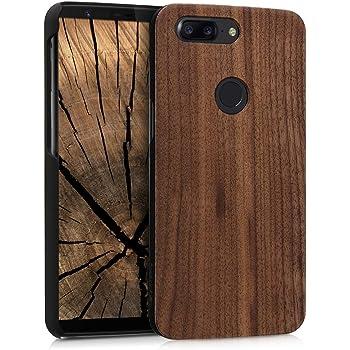buy online 7a9ec a1071 kalibri OnePlus 5T Wood Case - Ultra Slim Natural Hard: Amazon.co.uk ...