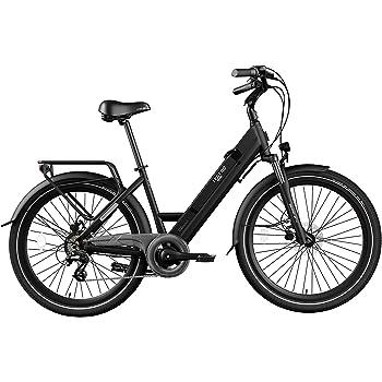Legend eBikes Milano 36V10.4Ah Bicicleta Eléctrica Plegable, 25 Km/h, Unisex Adulto, Onyx Black, Talla Única