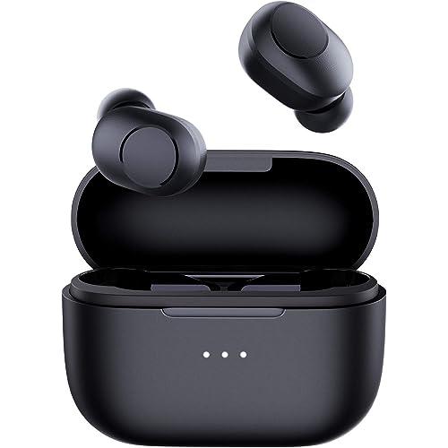 AUKEY Cuffie Bluetooth 5 Rilevamento In-Ear, Ricarica Wireless e USB-C, IPX5 Impermeabili, Durata 30 Ore, Micofono Integrato, Touch Control, Cuffie Wireless per Lavoro e Viaggio