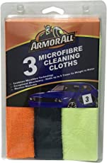 Armor All Microfiber Cleaning Cloth (Set of 3)
