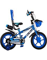 Maskman Kids Bicycle 14T BMX Single Speed Cycle for Boys & Girls with Training Wheels (Age Group 3-5 Years)