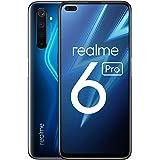 "realme 6 Pro – Smartphone de 6.6"", 6 GB RAM + 128 GB de ROM, Procesador OctaCore Snapdragon 720G, Cuádruple Cámara AI 64MP, D"