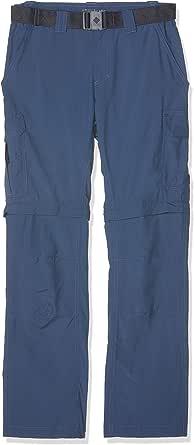 Columbia Men's Convertible Hiking Trousers, Silver Ridge II