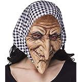 Hexen Maske Oma Alte Dame Hexenmaske Halloweenmaske Horrormaske Hexe Greisin