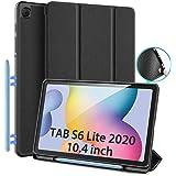 DUX DUCIS Funda para Samsung Galaxy Tab S6 Lite 10.4 (P610 / P615) 2020, TPU Suave Estuche de protección magnética Delgada co