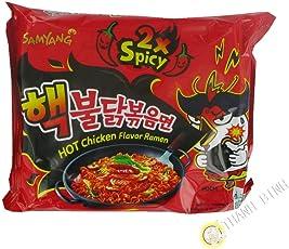 Samyang Hot Chicken Ramen 2X Spicy Noodles 140gms