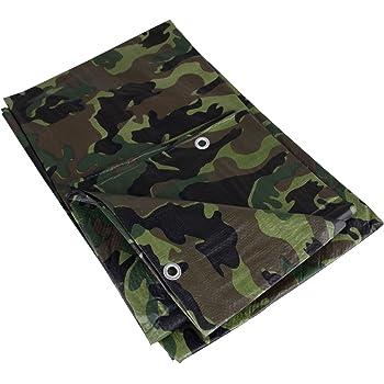 6 x 1,5m = 9m² Army Woodland Camouflage Abdeckplane Gewebeplane Bauplane Plane