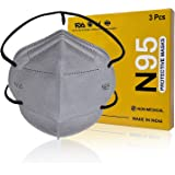 XPRA® N95 Face Mask, 5 Layer Protection, Head Loop Style, Ultra Comfortable, Lab Tested & FDA, ISO, CE, GMP Certified (40GSM