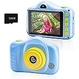 Chalpr Fotocamera bambini, Fotocamera Digitale per Bambini 1080P HD da 3,5 Pollici 30MP con Fotocamera per Selfie con Scheda