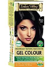 Indus Valley Natural Black Hair Colour- 1.0, 220 gm