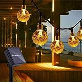 Catena Luminosa Esterno, TOGAVE LED Luce Stringa Solari Lucine 50 LED Lampadines IP65 Impermeabile Luci Da Esterno per…