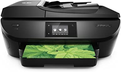 HP Officejet 5740 Multifunktionsdrucker schwarz (Instant Ink, Drucker, Scanner, Kopierer, Fax, WLAN, Airprint)