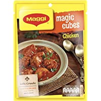MAGGI Magic Cubes Chicken Masala, 40g Pack (4g x 10 Cubes) | Ready Masala for Rice Dishes, Biryani, Curries & More