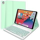 DINGRICH Funda Teclado para iPad 10.2/8 Generacion 2020/7 ...