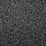 Filtermatte PPI 20 mittelgrob Filterschwamm schwarz Filterschaum Teich Aquarium (50x50x3 cm)