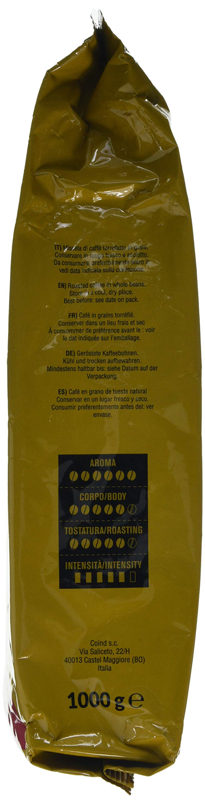 Consuelo Gran Aroma – Italian Coffee in whole beans – 1 kg