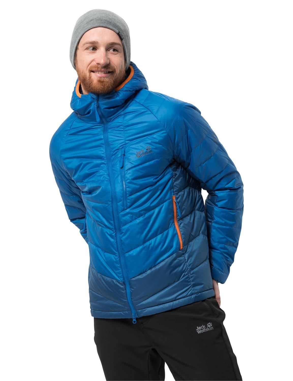 713Iv5HXOXL - Jack Wolfskin Men's Neon Daunenjacke Winddicht Wasserabweisend Atmungsaktiv Down Jacket