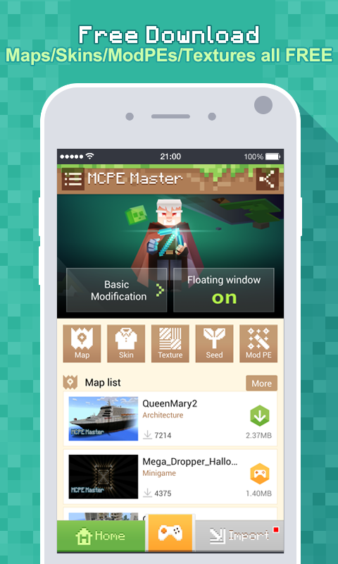 Master for Minecraft - Launcher