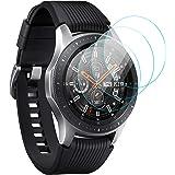 KIMILAR Pantalla Compatible con Samsung Galaxy Watch 46mm / Gear S3 Protector Pantalla, Templado Vidrio Compatible con Galaxy