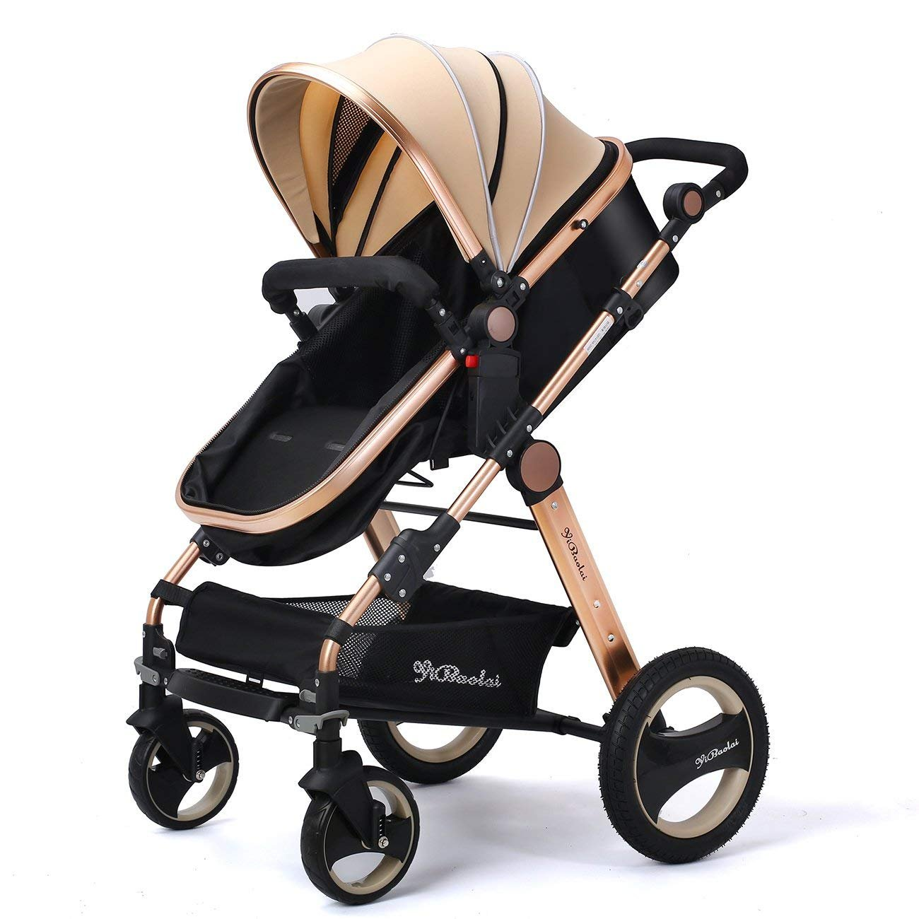 1f07c49747da YBL High Landscape Toddlers Prams 2 In 1 Cheap From Birth Newborn  Pushchairs Baby Strollers Fold Two Way With Cup Holder And Meal Plate |  Prams, ...