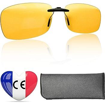 Clip Filtre Lumière Bleue Haute Protection - Verres Gaming Premium Qui  S adaptent A Toutes Les Montures - Certifié CE en France - Surlunettes  Filtre Ecrans ... 6d766fd8d66d