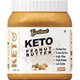 Earthnut Keto Peanut Butter 1kg (Unsweetened) (No Hydrogenated/Palm Oil) (Crunchy)