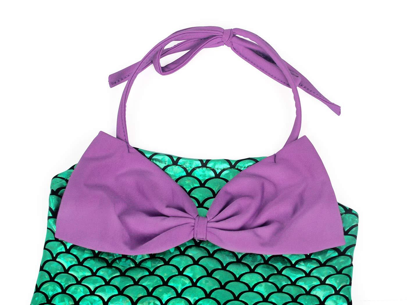 AmzBarley Costume della Sirenetta Vestito vestirsi Ragazza Bambina Coda di Pesce Costumi di Halloween Vestiti Compleanno… 4 spesavip