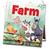 Farm - Illustrated Book On Farm Animals (Let's Talk Series)