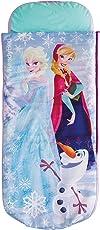 Worlds Apart Die Eiskönigin - Junior-ReadyBed – Kinder-Schlafsack und Luftbett in einem
