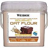 Weider Oat Gourmet. Harina de Avena Integral. Fuente de proteína con bajo contenido en azúcares. Sabor Brownie (1,9 kg)