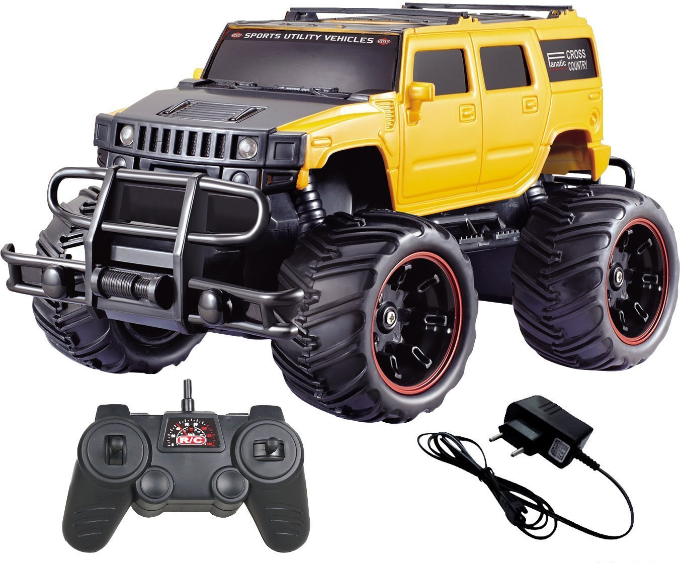 Buy Saffire Off Road Passion Monster Racing Car Yellow Online