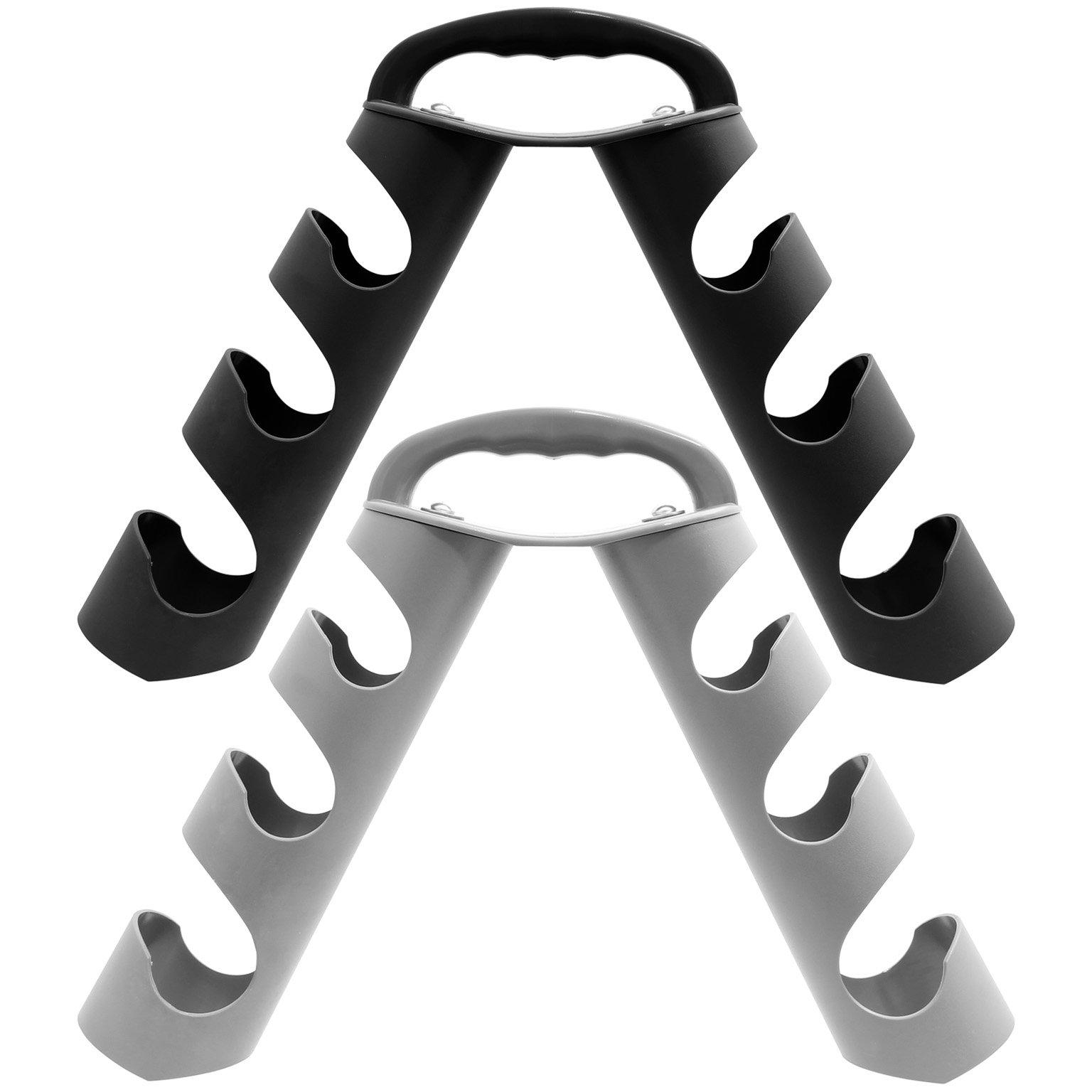 MiraFit - Rastrelliera portatile porta manubri - vari colori (pesi non inclusi)