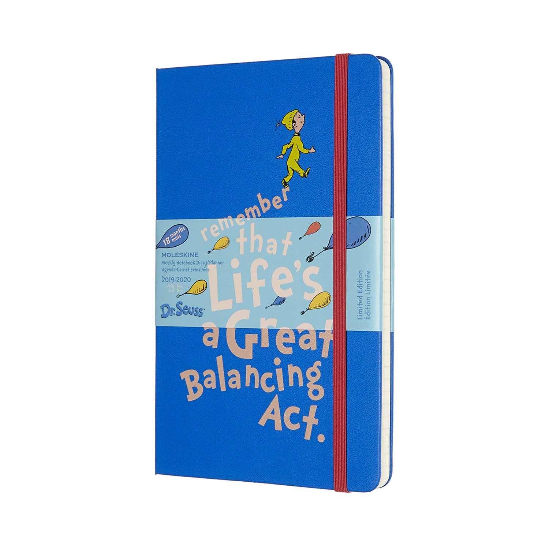 Agenda settimanale 18 mesi cm 15 X 21 colore blue