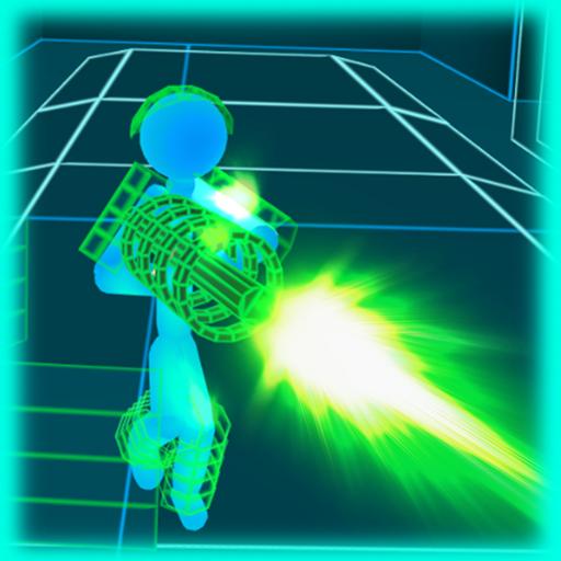 Stickman Neon Gun Warriors