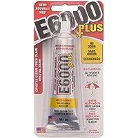 E6000 Plus Colla Trasparente Multiuso, Impermeabile e Verniciabile, Resistente Colla Flessibile per Hobby Creativi per…