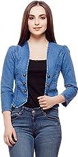 Westa Clothing Denim Shrugs Women Crop Denim Jacket