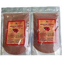 QYKKARE Premium Hibiscus Powder (100gm X 2) Pure & Natural