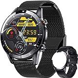 ieverda Montre Connectée,Montre Intelligente Homme IP68Etanche Bracelet Connecté Cardio Podometre Smartwatch Sport Fitness Tr
