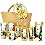 Spa Luxetique Coffret Cadeau pour les Femmes, 10 PC Coffret de Bain, Parfum de Vanille, Crème pour les Mains, Cadeau d'Annive
