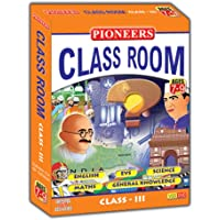 Pioneers Class Room- Class 3 English EVS Science Maths GK CD (Pack Of 5) Universal Syllabus