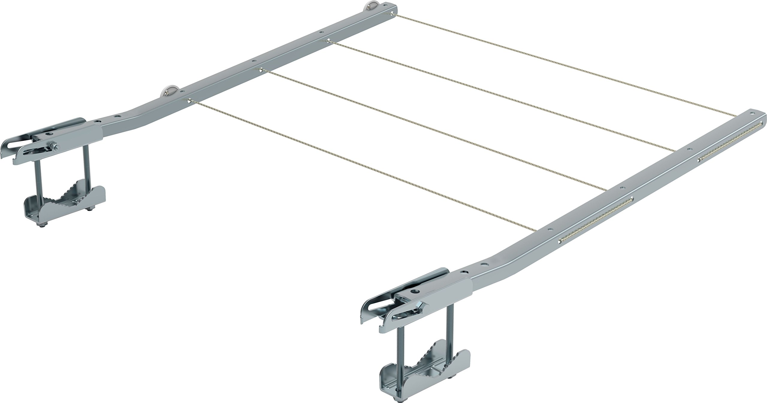 Gimi Ring Tendedero de balcón de Acero galvanizado, 20 m de Longitud de tendido