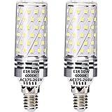 E14 LED Maíz Bombillas 16W Blanco Frío 6000K Equivalente a 120W Bombillas halógenas, E14 El ahorro de energía Bombilla, sin p